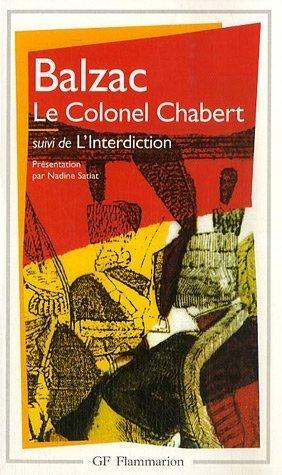 le-colonel-chabert-suivi-de-linterdiction