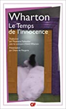 Le Temps de l'innocence by Edith…