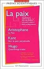 La Paix by Collectif