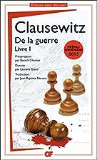 Della guerra 1 by Carl von Clausewitz