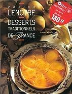 Desserts traditionnels de France by Gaston…
