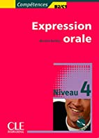 Competences Oral Expression Audio CD Level 4…