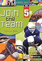 Join the team - Anglais 5e A2…
