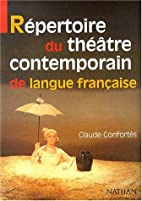 Repezrtoire du theatre contemporain de…