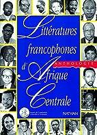 Littératures francophones d'Afrique…