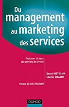 Du management au marketing des services :…