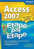 Access 2007 by Steve Lambert