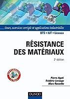 Résistance des matériaux :…