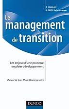 Le management de transition - Les enjeux…