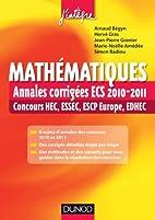 Mathématiques : Annales corrigées ECS…