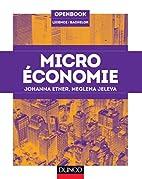 Microéconomie by Meglena Jeleva