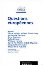 Questions europeennes / cae 27