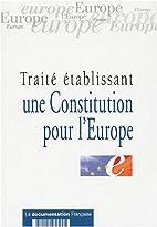 Traité établissant une Constitution pour…