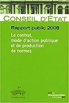 Rapport public 2008: Vol. 1 : Activité -…