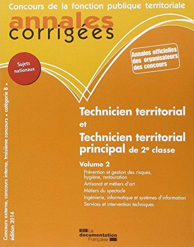 technicien-territorial-technicien-territorial-principal-de-2e-cl-2014-volume-2-prevention-et-gestion-des
