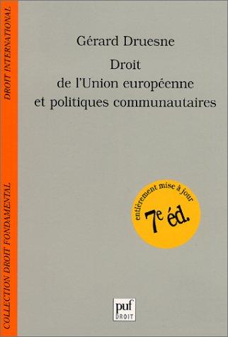droit-de-lunion-europeenne-et-politiques-communautaires