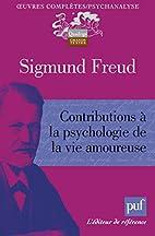 Contributions à la psychologie de la vie…