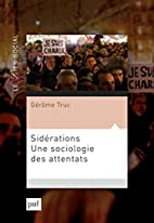 Sidérations : Une sociologie des…