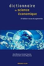 Dictionnaire de science économique by…