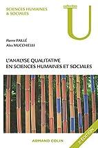 L'analyse qualitative en sciences humaines…