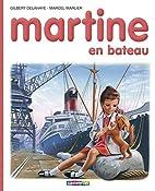 Martine en bateau by Gilbert Delahaye