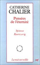 Pensees de l'eternite: Spinoza, Rosenzweig…