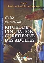 Guide pastoral du rituel de…