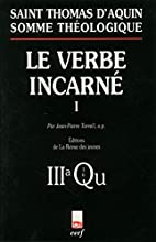 Le Verbe incarné, tome 1 by Jean-Pierre…