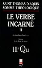 Le Verbe incarné, tome 2 by Jean-Pierre…