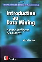 Introduction au data mining: Analyse…