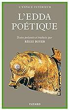 L'Edda poétique by Régis…