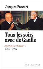Journal de l'Elysée, tome 1 :…