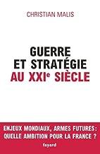 Guerre et stratégie au XXIe…