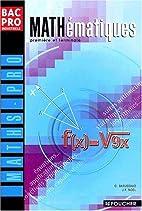 Mathématiques bac pro industriels by Guy…