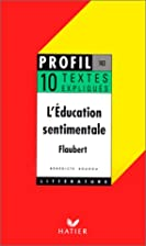 L'Education Sentimentale (French…