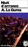 La Guma, Alex: Nuit d'errance: Roman (Collection Monde noir poche) (French Edition)