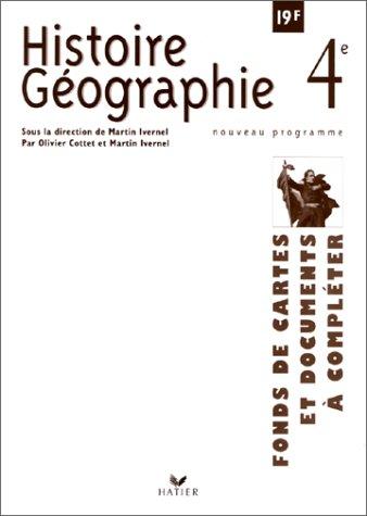 histoire-geographie-4eme-fonds-de-cartes-et-documents-a-completer
