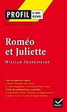 Roméo et Juliette de Shakespeare Profil Bac…