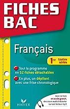 Francais Premiere Toutes Serie Fl by…