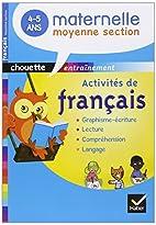 CHOUETTE; français ; moyenne section