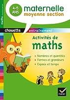 CHOUETTE; mathématiques ; moyenne section