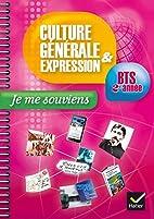 Culture générale et Expression…