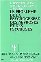 Le problème de la psychogénèse des…