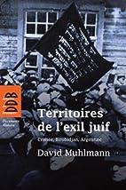 Territoires de l'exil juif :…