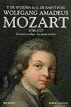 Mozart - T. 1 - NE by Georges de Saint-Foix