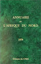 Annuaire de l'Afrique du Nord,…
