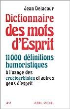 Dictionnaire des mots d'esprit : 11000…