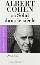Albert Cohen by Jean Blot