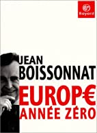 Europe: année zéro by Jean…