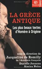 La Gr&egrave;ce antique : Les Plus Beaux&hellip;